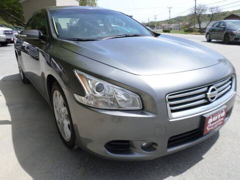 2014 Nissan Maxima for sale at AUTO CONNECTION LLC in Springfield VT