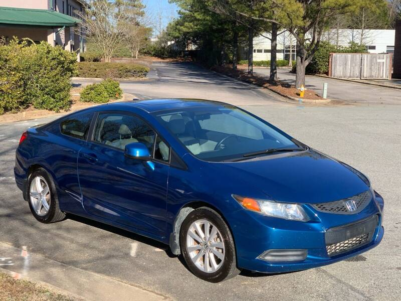 2012 Honda Civic for sale at Triangle Motors Inc in Raleigh NC