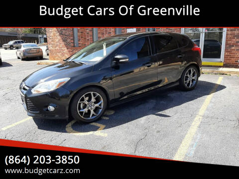 2014 Ford Focus for sale at Budget Cars Of Greenville in Greenville SC