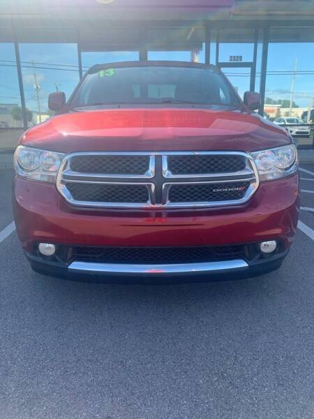 2013 Dodge Durango for sale at East Carolina Auto Exchange in Greenville NC