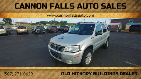 2005 Mercury Mariner for sale at Cannon Falls Auto Sales in Cannon Falls MN