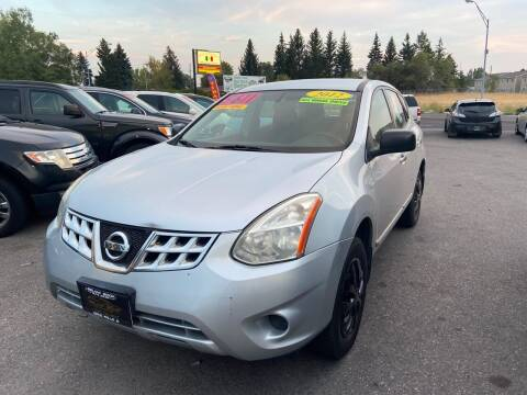 2012 Nissan Rogue for sale at BELOW BOOK AUTO SALES in Idaho Falls ID