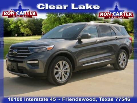 2020 Ford Explorer for sale at Ron Carter  Clear Lake Used Cars in Houston TX