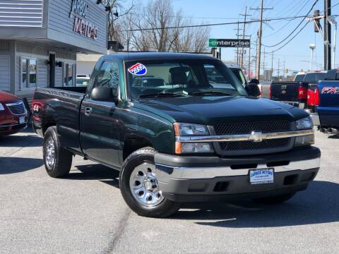 2005 Chevrolet Silverado 1500 for sale at Jarboe Motors in Westminster MD