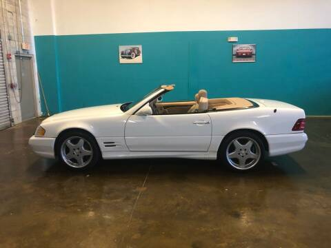 2001 Mercedes-Benz SL-Class for sale at Unique Sport and Imports in Sarasota FL