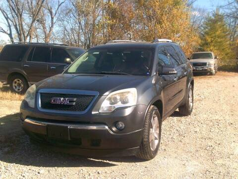 2011 GMC Acadia for sale at WEINLE MOTORSPORTS in Cleves OH