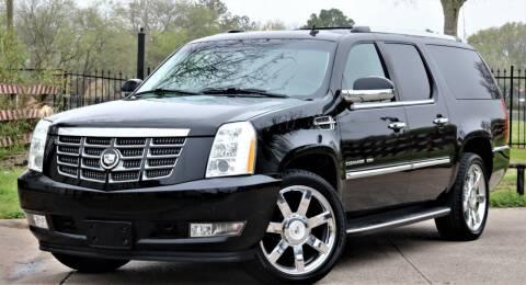 2010 Cadillac Escalade ESV for sale at Texas Auto Corporation in Houston TX