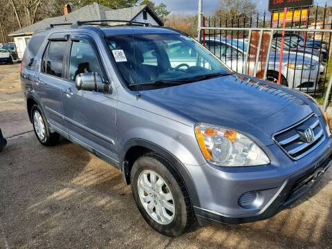 2005 Honda CR-V for sale at Palmer Automobile Sales in Decatur GA