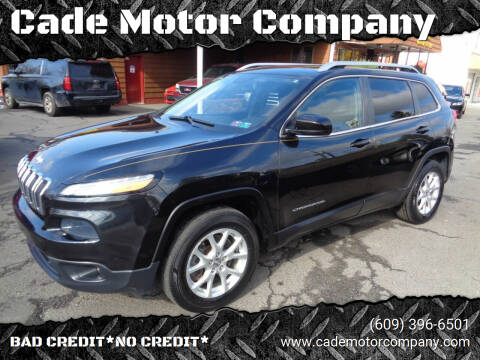 2014 Jeep Cherokee for sale at Cade Motor Company in Lawrenceville NJ