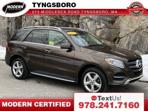 2018 Mercedes-Benz GLE for sale at Modern Auto Sales in Tyngsboro MA