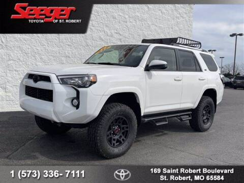 2019 Toyota 4Runner for sale at SEEGER TOYOTA OF ST ROBERT in St Robert MO