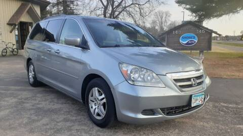2005 Honda Odyssey for sale at Shores Auto in Lakeland Shores MN