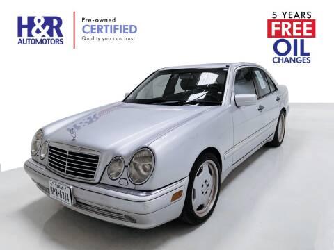 1999 Mercedes-Benz E-Class for sale at H&R Auto Motors in San Antonio TX
