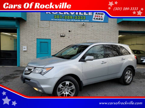 2008 Acura MDX for sale at Cars Of Rockville in Rockville MD