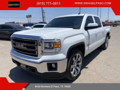 2014 GMC Sierra 1500 for sale at SOUTHWEST AUTO GROUP-EL PASO in El Paso TX