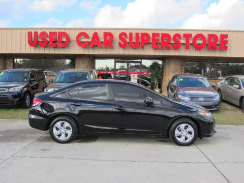 2013 Honda Civic for sale at Checkered Flag Auto Sales NORTH in Lakeland FL
