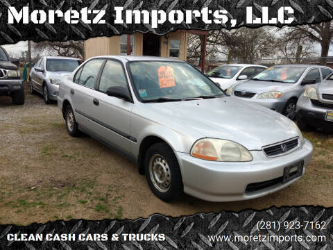 1996 Honda Civic for sale at Moretz Imports, LLC in Spring TX