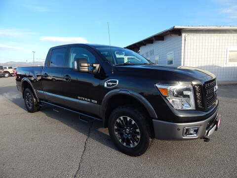 2017 Nissan Titan XD for sale at West Motor Company - West Motor Ford in Preston ID