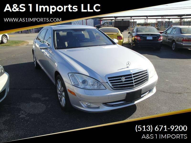 2008 Mercedes-Benz S-Class for sale at A&S 1 Imports LLC in Cincinnati OH