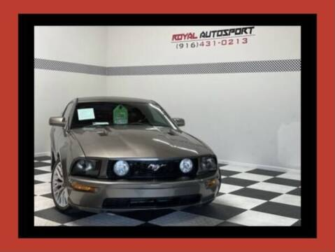 2005 Ford Mustang for sale at Royal AutoSport in Sacramento CA