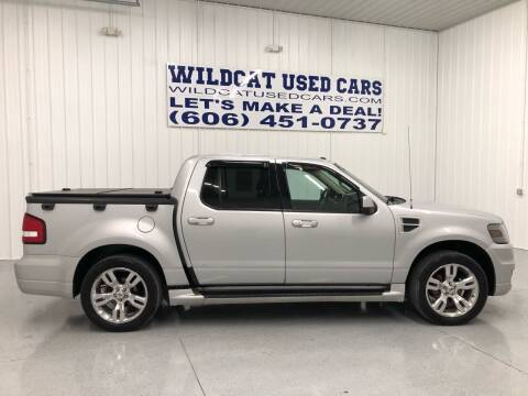 2010 Ford Explorer Sport Trac for sale at Wildcat Used Cars in Somerset KY