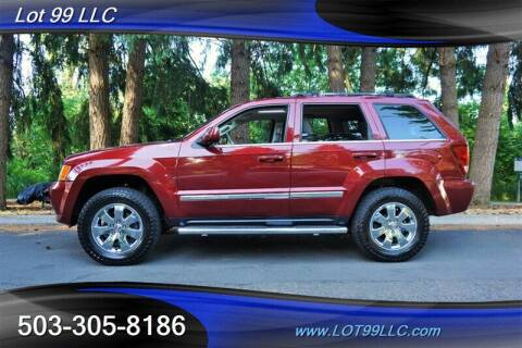2008 Jeep Grand Cherokee for sale at LOT 99 LLC in Milwaukie OR