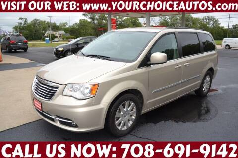 2013 Chrysler Town and Country for sale at Your Choice Autos - Crestwood in Crestwood IL