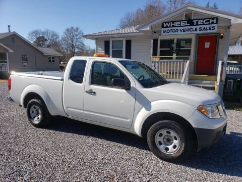 2015 Nissan Frontier for sale at Wheel Tech Motor Vehicle Sales in Maylene AL