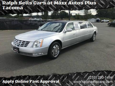 2010 Cadillac DTS Pro for sale at Ralph Sells Cars at Maxx Autos Plus Tacoma in Tacoma WA