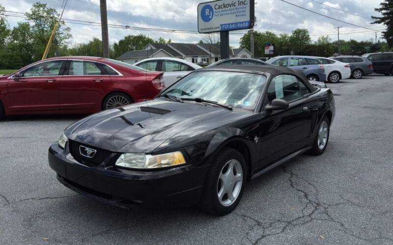 1999 Ford Mustang for sale at R J Cackovic Auto Sales, Service & Rental in Harrisburg PA