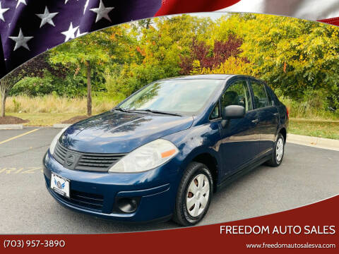 2009 Nissan Versa for sale at Freedom Auto Sales in Chantilly VA