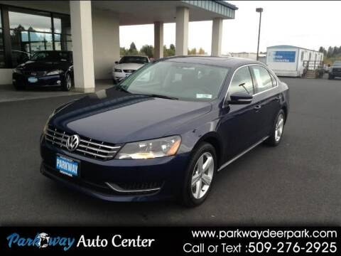 2013 Volkswagen Passat for sale at PARKWAY AUTO CENTER AND RV in Deer Park WA
