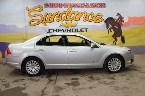 2010 Ford Fusion Hybrid for sale at Sundance Chevrolet in Grand Ledge MI