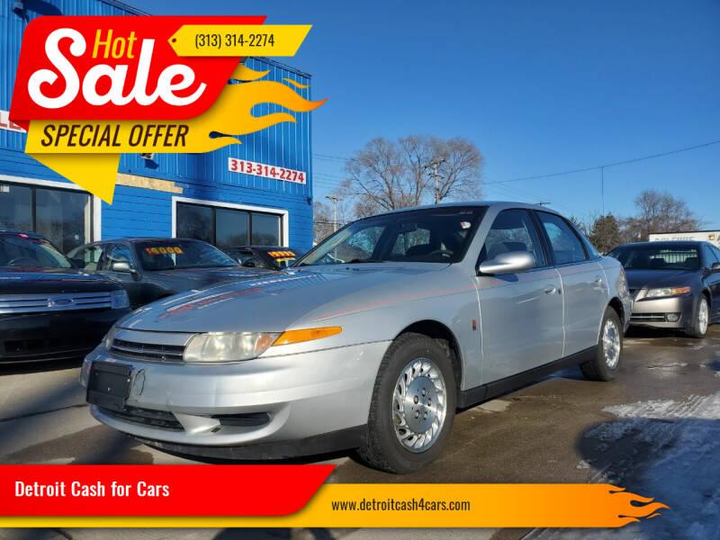 2001 Saturn L-Series for sale at Detroit Cash for Cars in Warren MI