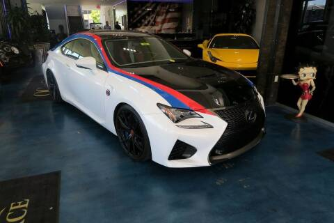 2016 Lexus RC F for sale at OC Autosource in Costa Mesa CA