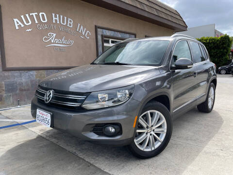 2012 Volkswagen Tiguan for sale at Auto Hub, Inc. in Anaheim CA