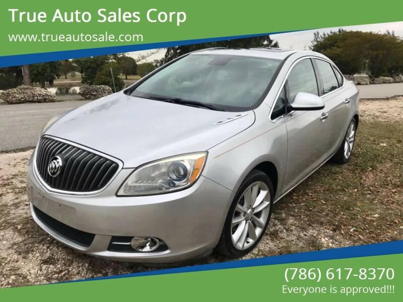 2012 Buick Verano for sale at True Auto Sales Corp in Miami FL