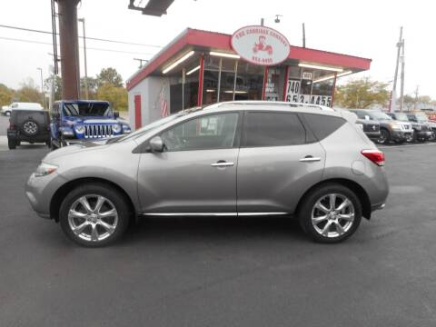 2012 Nissan Murano for sale at The Carriage Company in Lancaster OH