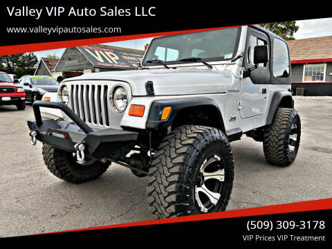 2002 Jeep Wrangler for sale at Valley VIP Auto Sales LLC in Spokane Valley WA