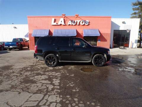 2013 Chevrolet Tahoe for sale at L A AUTOS in Omaha NE