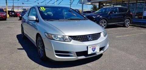 2011 Honda Civic for sale at I-80 Auto Sales in Hazel Crest IL