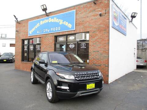 2015 Land Rover Range Rover Evoque for sale at Everett Auto Gallery in Everett MA