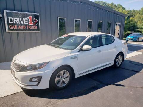 2015 Kia Optima Hybrid for sale at Drive 1 Car & Truck in Springfield OH