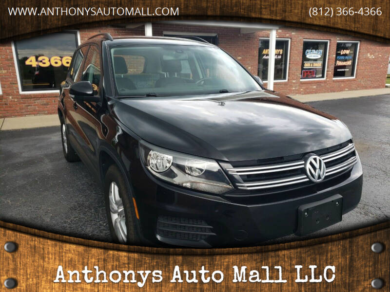 2017 Volkswagen Tiguan for sale at Anthonys Auto Mall LLC in New Salisbury IN
