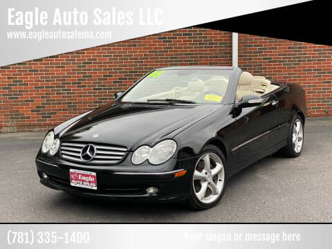 2005 Mercedes-Benz CLK for sale at Eagle Auto Sales LLC in Holbrook MA
