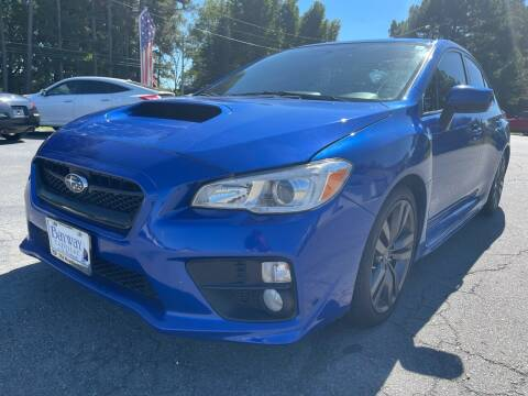 2016 Subaru WRX for sale at Airbase Auto Sales in Cabot AR