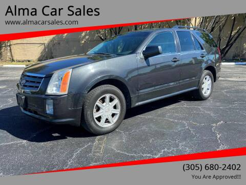 2004 Cadillac SRX for sale at Alma Car Sales in Miami FL