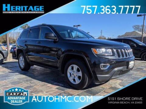 2015 Jeep Grand Cherokee for sale at Heritage Motor Company in Virginia Beach VA