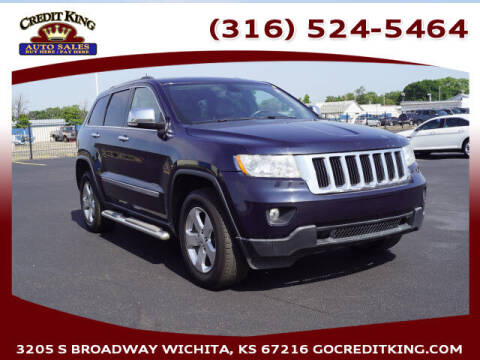 2013 Jeep Grand Cherokee for sale at Credit King Auto Sales in Wichita KS