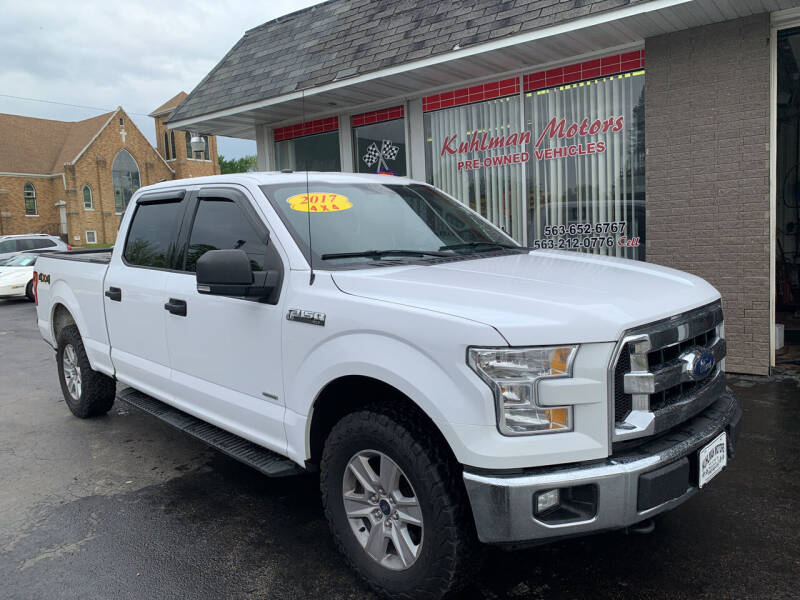 2017 Ford F-150 for sale at KUHLMAN MOTORS in Maquoketa IA